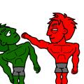 Green Hulk Kills Red Hulk!