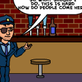 THE ADVENTURES OF OFFICER L.E