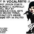 I got into VocalArts!:D