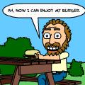 Unattended Hamburger