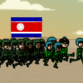 North Korea on bitstrips