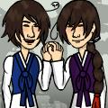 Korea brothers for Baek-mei