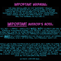 Warning et Author's Note