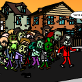 Being Chased By Zombies