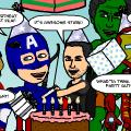 Happy 4th Birthday Avengers