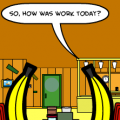 'Bananas At a Restaurant 5'