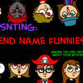 Friend Name Funnies (Discontinued)