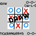 Tic-Tac-Toe: Vs. Adiw Result