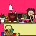 'my kitchen!'