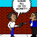 Raw '' the robbery''
