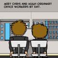 meet Chris and Hugh