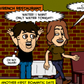 'French restaurant 3 date'