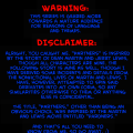 Warning et Disclaimer