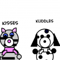 kisses &amp;amp; kuddles