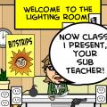 'Sub Teacher'