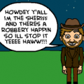 The Sheriff's journey