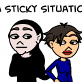 A Sticky Situation