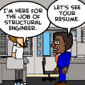 getting the job'