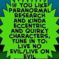 live no evil/live on evil