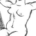 naked portret