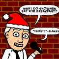 'Snowmen Breakfast'