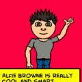 Alfie Browne...