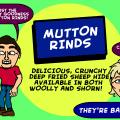 'Mutton Rinds'